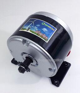Windrex 350w 12v 24v dc permanent magnet motor generator for 12v wind turbine motor