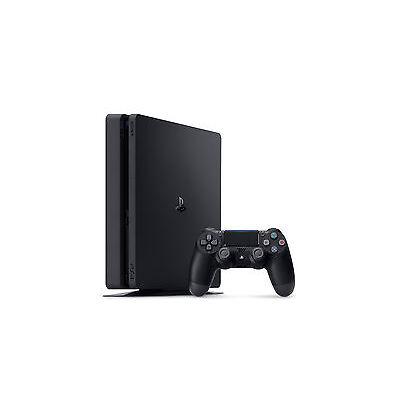 SONY Playstation 4 PS4 Slim 500GB Console Black *VGC*+Warranty!!