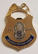 US Department of State DSS Diplomatic Security Service 100 Years Bottle Opener