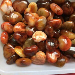 a-lot-Natural-carnelian-Stone-quartz-crystal-Specimen-Heart-healing-2-2LB-G169