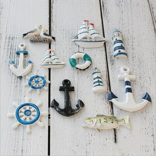 1X Mediterranean style Resin Starfish//sailing//lighthouse decorative wall DIY