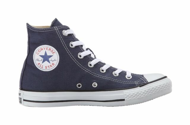 f33dbd669e71 Converse Men Shoes Chucks Hi All Star Classic Canvas Navy Blue Sneakers  M9622