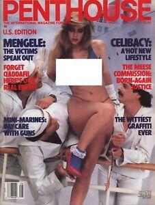 Vintage US Penthouse magazine 1986-08 Patty Mullen - Amstelveen, Nederland - Staat: Goed: Een boek dat is gelezen, maar zich in goede staat bevindt. De kaft is zeer minimaal beschadigd (er zijn bijvoorbeeld slijtplekken), maar er zijn geen deukjes of scheuren. De harde kaft heeft mogelijk geen stofomslag me - Amstelveen, Nederland
