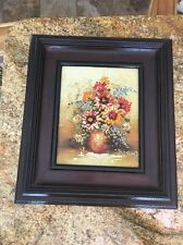 Vintage Is The Original Oil Painting Floral By Robin