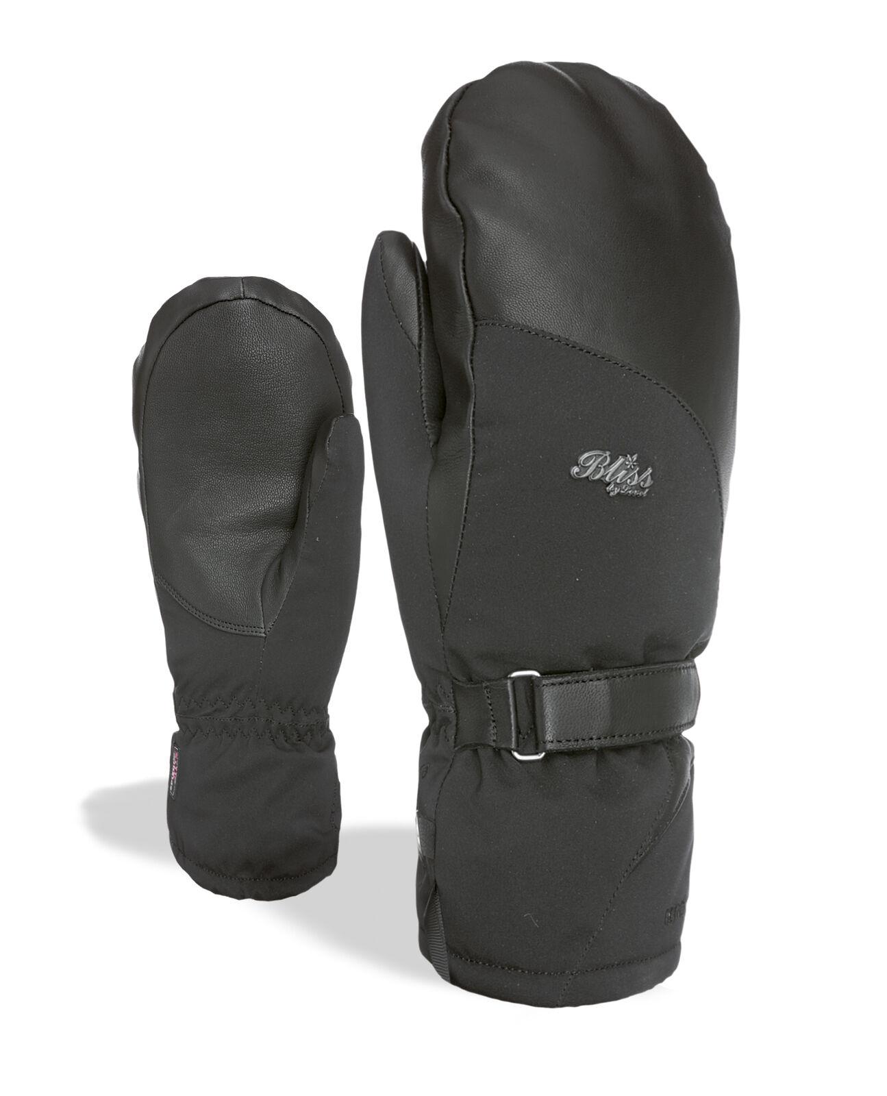 Level Handschuh Bliss  Crystal Mitt Gore-Tex black winddicht wärmend  the cheapest