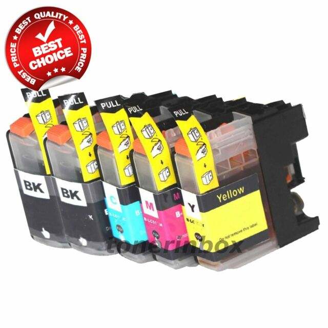 5 LC103 XL LC103BK Black & Color Printer HY Ink Cartridge for Brother MFC-J870DW
