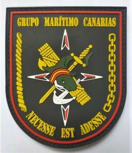 parche POLICIA GUARDIA CIVIL GRUPO MARITIMO CANARIAS, spain police patch