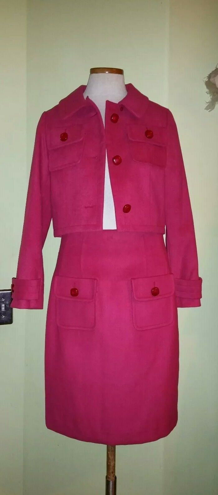 ETCETERA Hot Pink Suit Sz 4 NWOT Stunning    Retail  & up