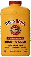 6 Pack - Gold Bond Body Powder Medicated 10 Oz Each on sale
