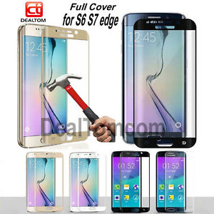 Full-Cover-Tempered-Glass-Screen-Protector-For-Samsung-Galaxy-S6-S7-Edge-Curved