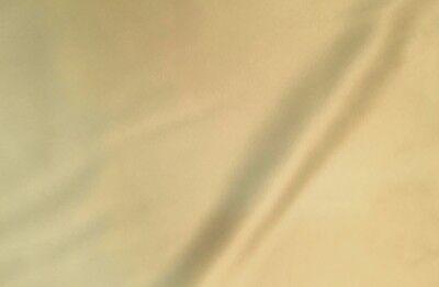 Awesome Designer BEIGE LIGHT TAN Low Sheen PEAU DE SOIE Medium Wt SATIN Fabric