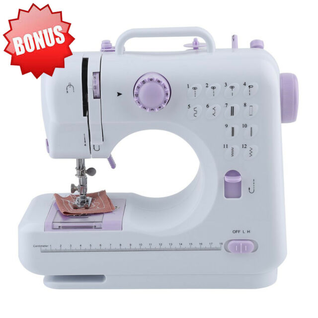 40 Stitches Electric Desktop Sewing Machine Handheld Household Magnificent Used Regina Sewing Machines