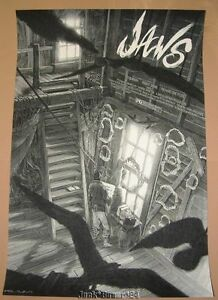 Jaws-Nicolas-Delort-Movie-Poster-Print-Signed-Numbered-Artist-Proof-Mondo-Art