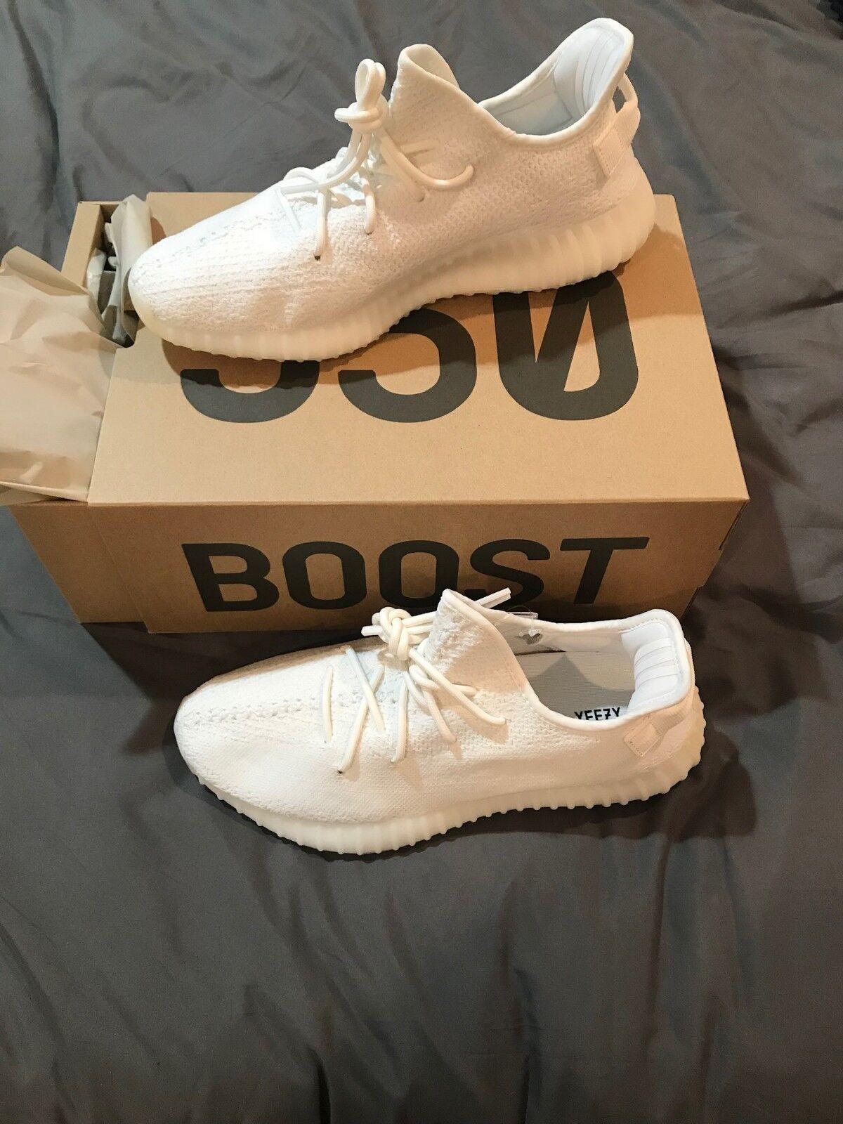 Yeezy auftrieb 350 v2 triple Weiß (sahne) (sahne) Weiß größe 10,5, adidas b5d04e