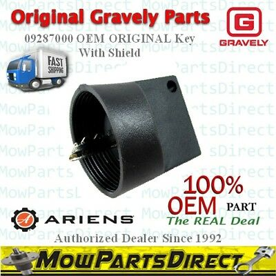 Key with Shield Replaces Gravely Ariens 09287000 2 pack