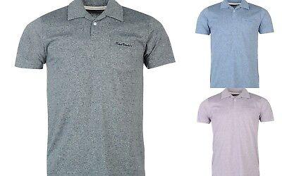 Pierre Cardin Mens Gents Rever Polo Shirt Collar Neck Short Sleeve Tee S L XL XX