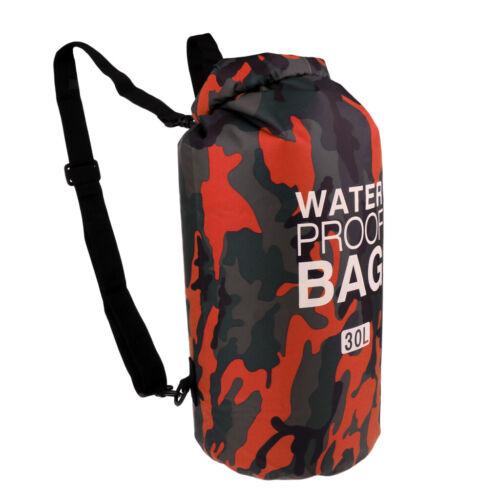 30L Tauchen Schwimmen Camping Wandern Radfahren Angeln Wasserdichte Dry Bag