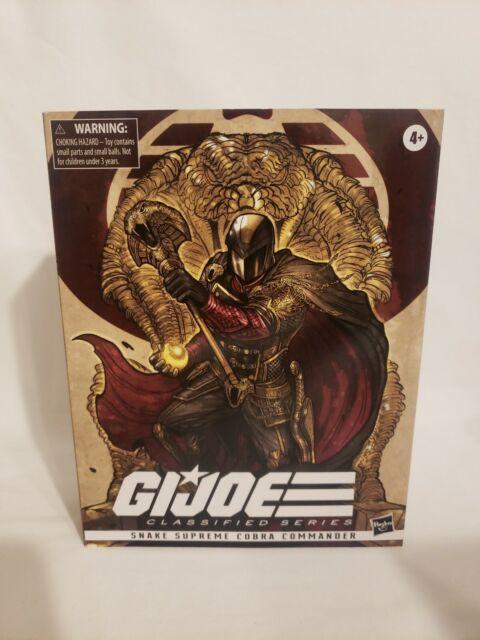 "G.I.Joe Classified Series 6"" Snake Supreme Cobra Commander"