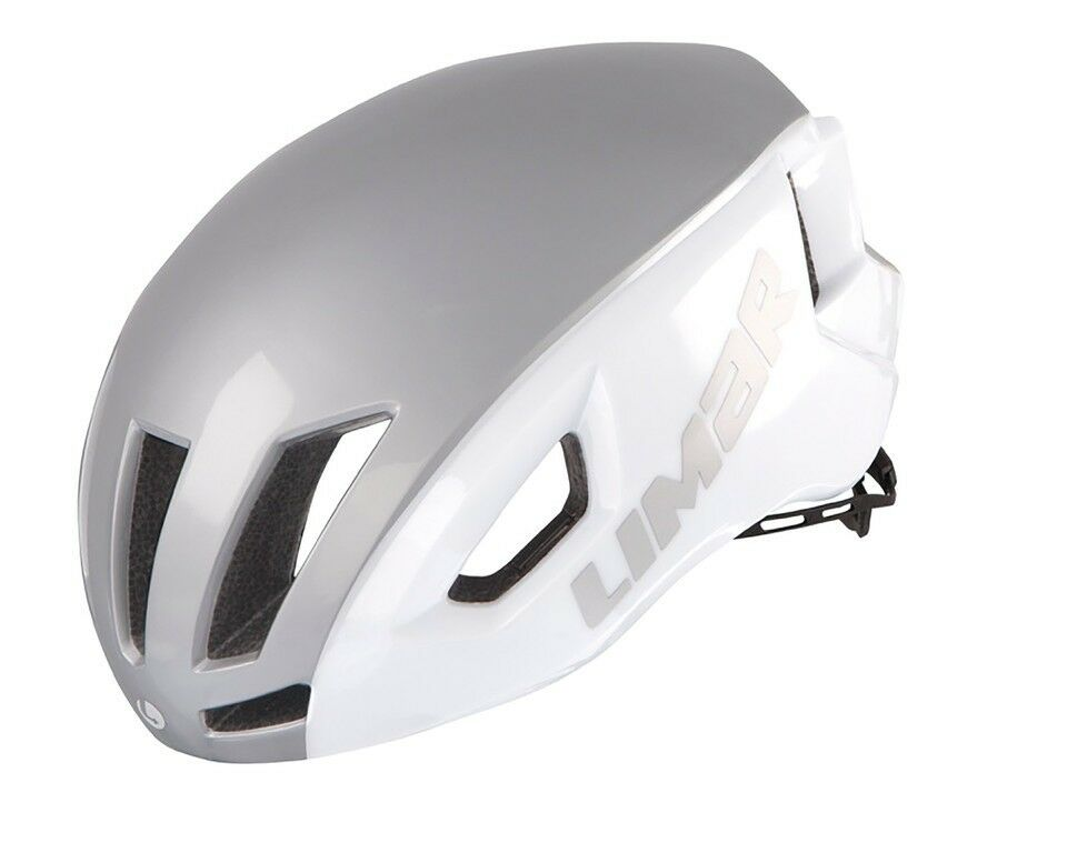 Limar Air Speed Fahrradhelm    white silver