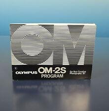 Olympus OM-2S Bedienungsanleitung instructions EN - 91118
