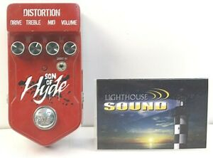 Visual-Sound-V2-Series-V2SOH-Son-of-Hyde-Distortion-Effects-Pedal-Fully-Tested