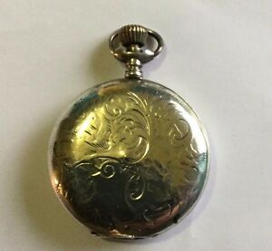 Antiques > silver > solid silver > pocket watches/chains/fobs