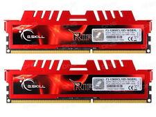 G.SKILL 16GB (8GB X 2) DDR3 1600MHZ RIPJAWS X (F3-12800CL10D-16GBXL)