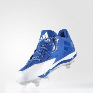 huge discount e57f5 3d783 Image is loading Men-039-s-Adidas-PowerAlley-4-Baseball-Cleats-