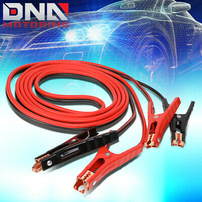 7Ft 9 Gauge Battery Jumper Heavy Duty Power Booster Cable Emergency Car Starter
