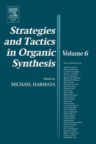 -Strategies And Tactics In Organic Synthesis BOOKH NEUF