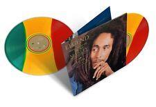 Bob Marley LEGEND 30th Annv. BEST OF ESSENTIAL New Rasta Tri-Colored Vinyl 2 LP