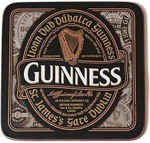 Buy A Harp >> Details About Guinness Nostalgic Harp Label Cork Baked Drinks Coaster Multi Buy Offer
