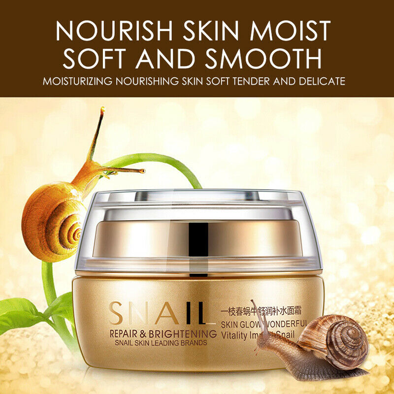Best Korean Nature Snail Cream Face Skin Care Serum Anti Wrinkles Acne Day Night 2