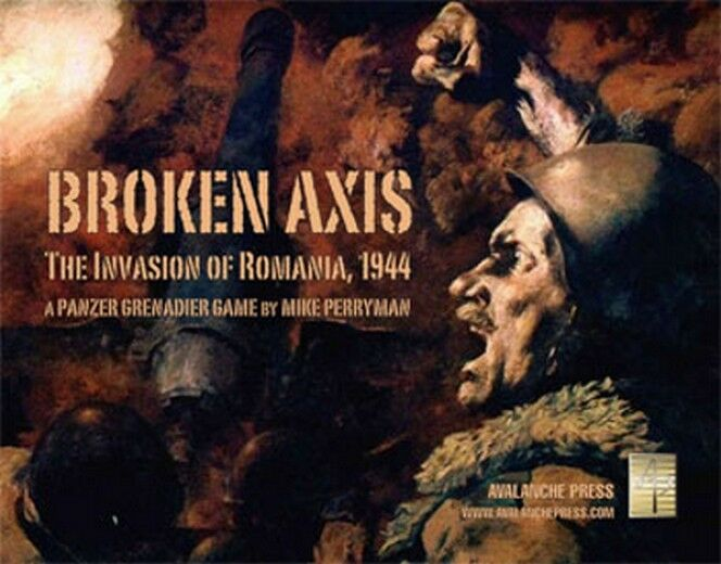 Panzer Grenadier  Broken Axis, Wargame, New by Avalanche Press, English