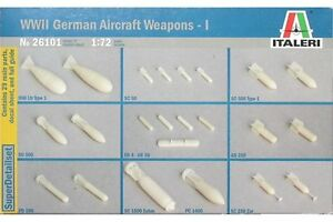 ITALERI-26101-1-72-WWII-German-Aircraft-Weapons-I