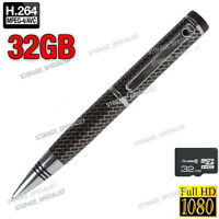 Home Security Camera Pen Cam 1080p Hd Video Usb Flash Drive (no Spy Hidden