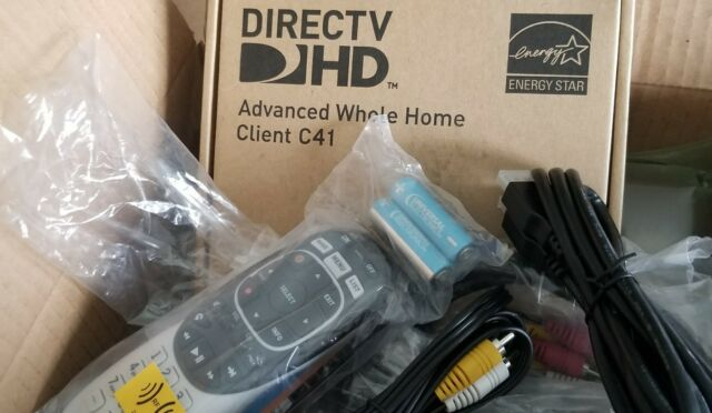 Directv Hd Genie Mini Client C41 With Remote And Cables