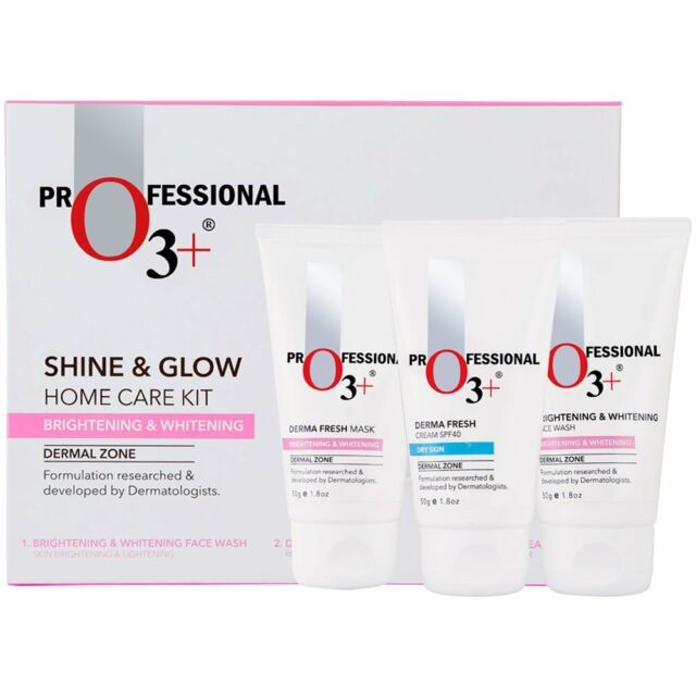 O3+ Shine & Glow Home Care Kit for Brightening & Whitening, 150g (free shipping)