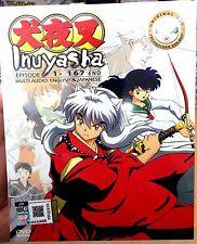 Inuyasha (Chapter 1 - 167 End) ~ 12-DVD SET ~ *English Version* ~ Japan Anime