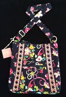 New Vera Bradley Large Hipster Ribbons Bag Handbag Purse Cross Body NWT
