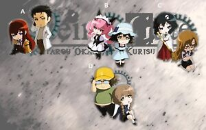 Details about Steins Gate 0 Amane Suzuha Acrylic Keychain Keyring Strap  Double Sided Cute