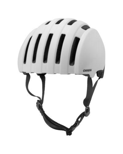 Carrera Fahrradhelm  PRECINCT weiß Unifarben waschbare Innenpolster