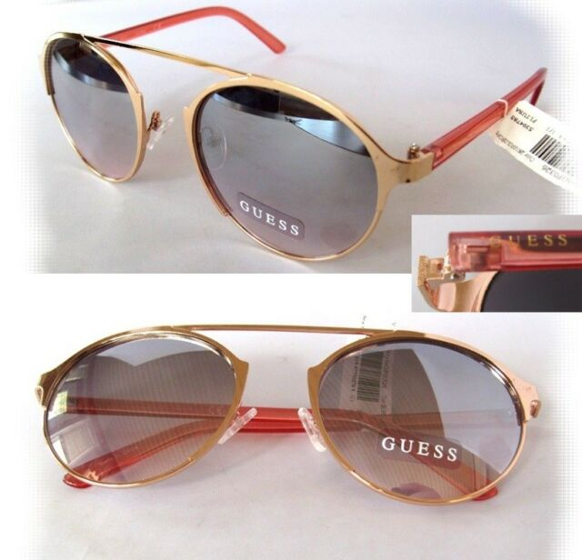 1c5a70fbece4 GUESS Gf0326 Womens Sunglasses Gold rose Mirror for sale online