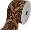 "10 Yards 2 1//2/"" Canvas Damask Ribbon"