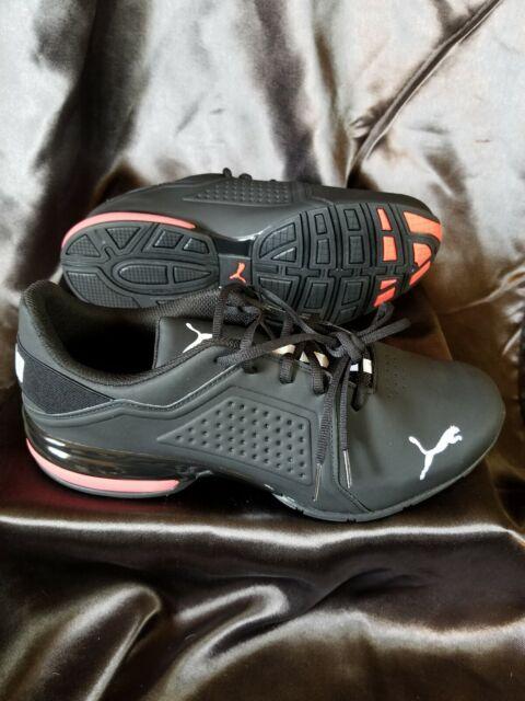 PUMA Viz Runner Running Shoe for Men, Size 12M - Black/White for ...
