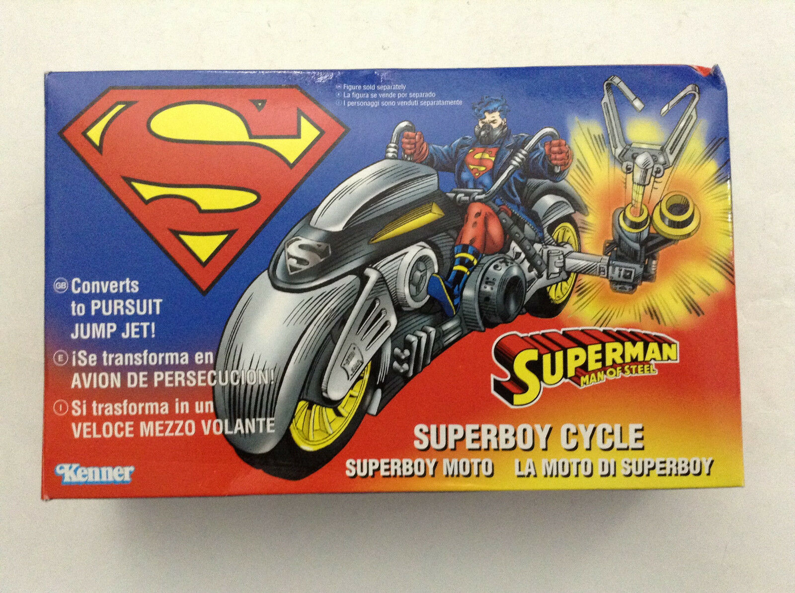 SUPERMAN MAN OF STEEL SUPERBOY CYCLE NEW(REBIRTH 52 TEEN TEEN TEEN TITANS JUSTICE LEAGUE 1 25ea6c
