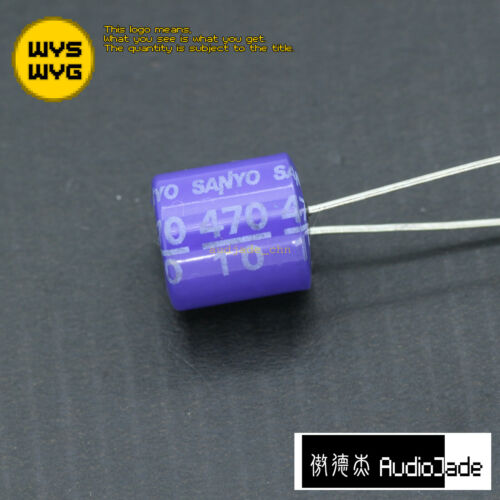 270uF 10V 16V 330uF 4V 470uF 10V SANYO OSCON SP Audio Capacitors AudioJade