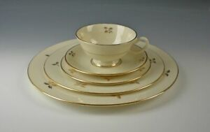Lenox-China-RHODORA-5pc-Place-Setting-s-Excellent