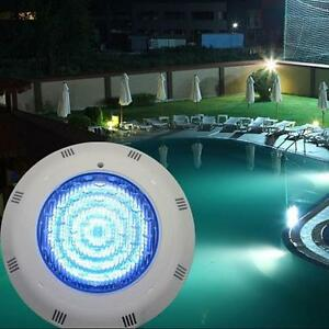 Details about LED RGB 5 Colors Wall-Mounted Pool Lights Underwater Swimming  Pool Bright Light