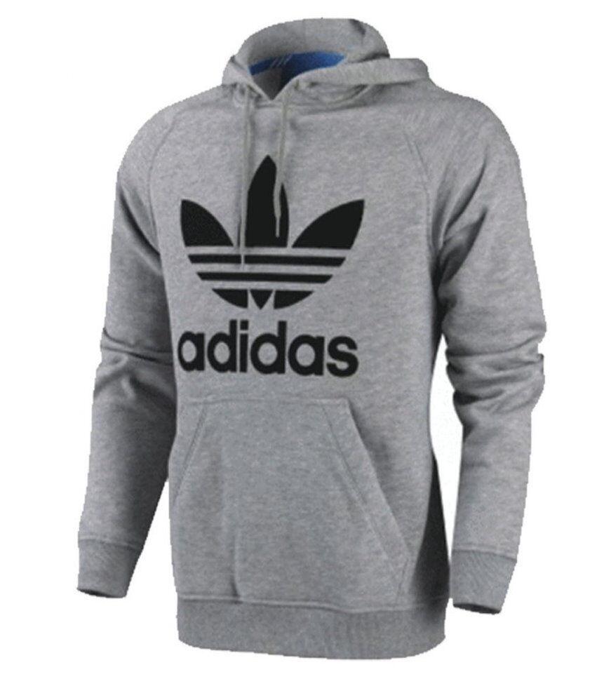 New À Homme Sweat Adidas Capuche Trèfle Polaire Originals xqB0w0Cf